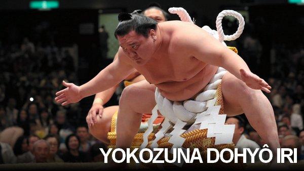 Yokozuna dohyo iri