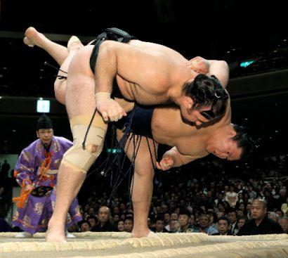 Kotooshu contre Goeido
