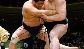 Harumafuji contre Myogiryu