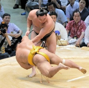 Hakuho contre Shohozan