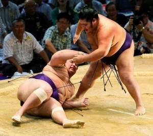 Kaisei contre Chiyotairyu