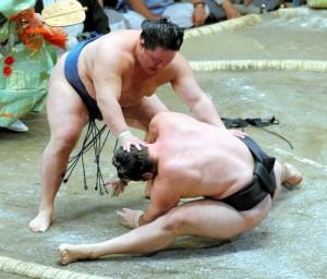 Goiedo contre Kotooshu