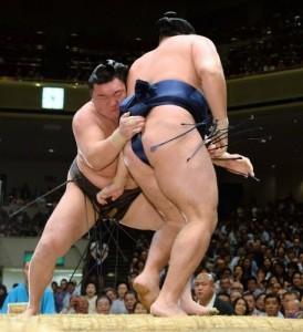 Hakuho contre Kakuryu