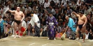 Hakuho contre Myogiryu