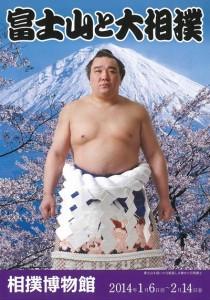 """Exposition """"Mont Fuji et Sumo"""" au musée d sumo du Kokugikan"""