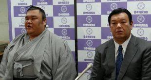 Kimurayama annonce son intai avec Kasugano oyakata