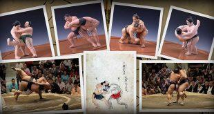 kimarite, exposition au musée du sumo