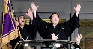 Hakuho avec Daikiho