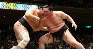 Hakuho contre Aminishiki