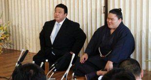 Goeido avec Sakaigawa oyakata