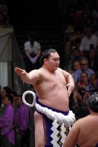 Le yokozuna Hakuho