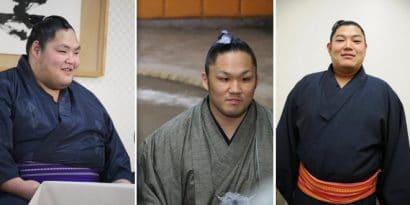 Les nouveaux jûryô pour l'Haru basho : Amakaze, Ishiura et Abi