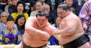 Hakuho contre Ichinojo