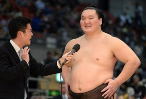 Interview de Hakuho