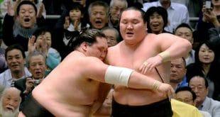 Terunofuji contre Hakuho