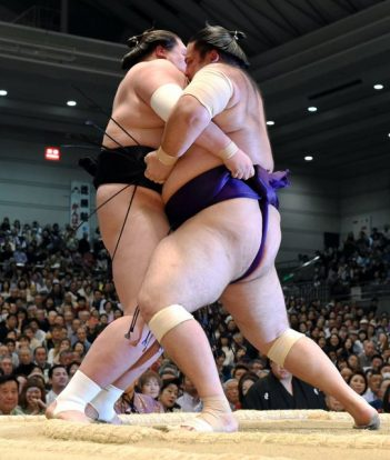 Terunofuji contre Kaisei