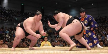 Ichinojo domine l'ozeki Goeido