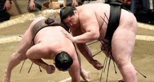 Ichinojo contre Hakuho