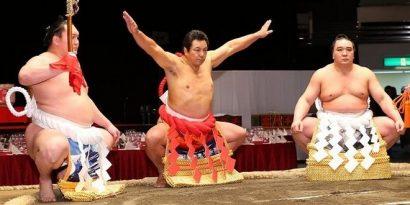 Chiyonofuji, cérémonie pour ses 60 ans
