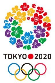 Logo officiel des JO de 2020 à Tokyo