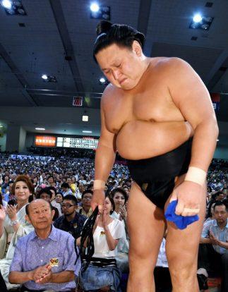 Kyokutenho après son dernier combat