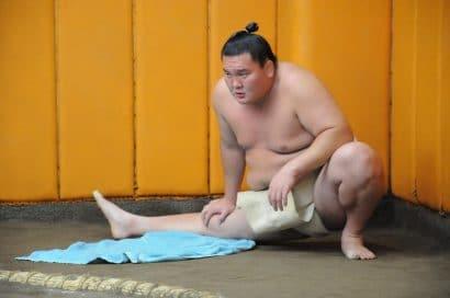 Hakuho a repris l'entraînement