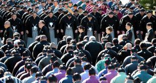 Kitanoumi cérémonie