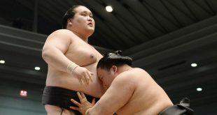 Terunofuji contre Goeido une