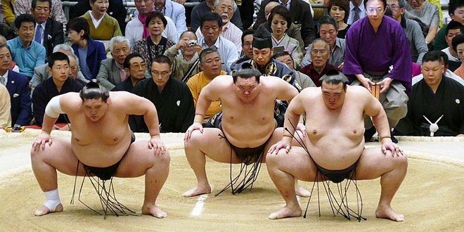Sumo, sumotori, rikishi