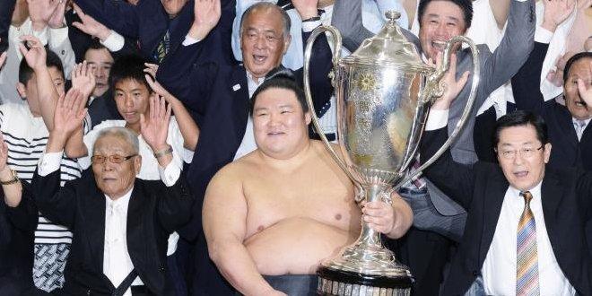 Finale – Goeido, vainqueur par zenshô yûshô