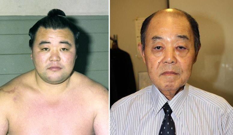 L'ancien komusubi Haguroiwa