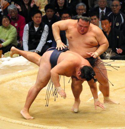 Kisenosato rebat les cartes en battant Kakuryu