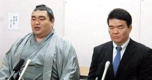 Tamaasuka avec Kataonami oyakata une