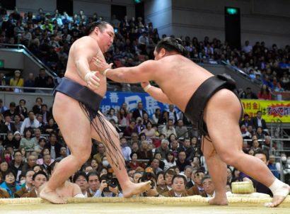 Shohozan obtient son quatrième kinboshi