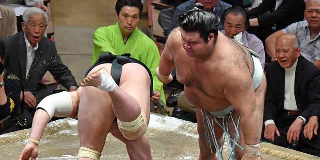 J13 – Hakuho n'est plus qu'à une victoire du titre