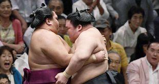 Goeido vs Mitakeumi