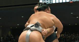 Harumafuji contre Hokutofuji
