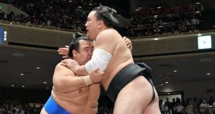 Kotoshogiku contre Harumafuji