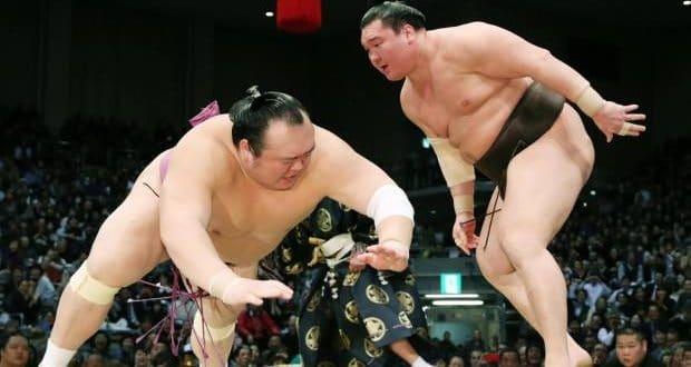J13 – Hakuho frôle la défaite mais reste en tête