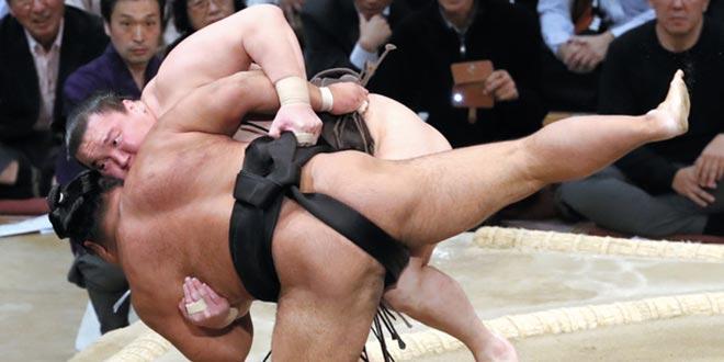 J6 – Hakuho désormais seul lutteur invaincu