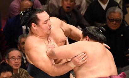 Tochinoshin à une victoire de son premier tournoi