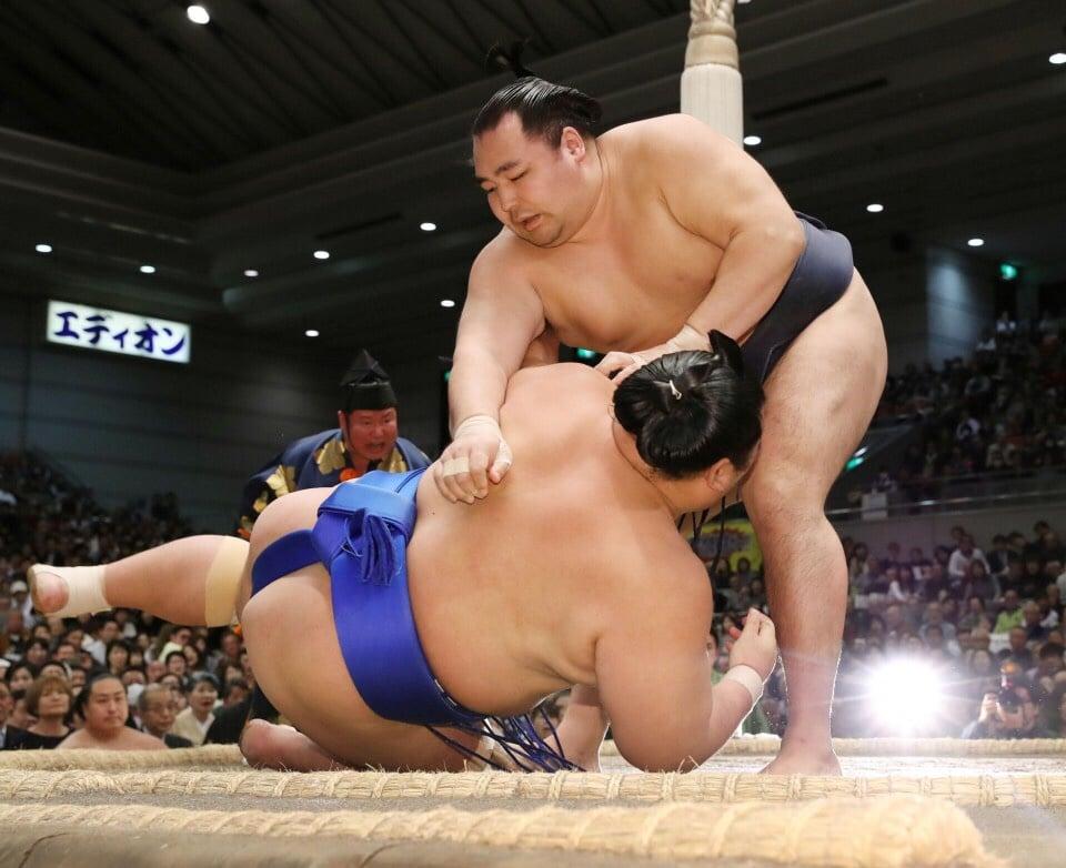 Kaisei partage la tête du tournoi avec Kakuryu