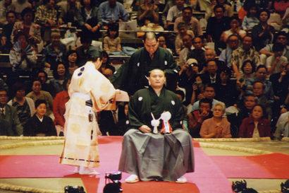 Takanohana damptasu-shiki.