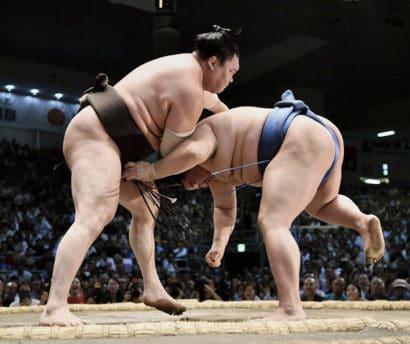 Hakuho et Kakuryu sont les premiers lutteurs kachi koshi