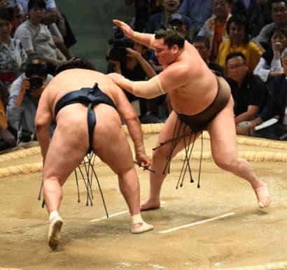 Hakuhô se débarrasse de Tamawashi