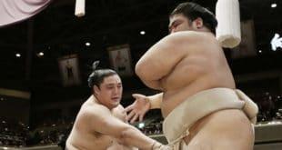 Okinoumi contre Shimanoumi