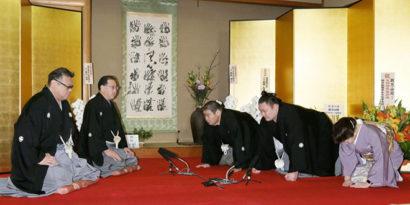 Asanoyama est promu ozeki
