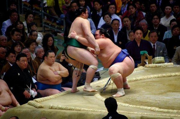Yorikiri de Kotoshogiku contre Sadanoumi