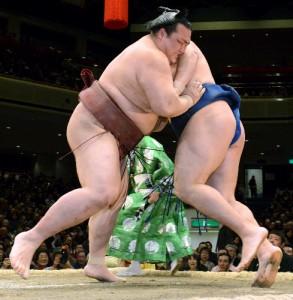 Kisenosato contre Kakuryu