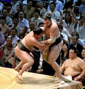 Hakuhô contre Kotooshu